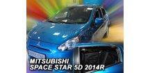 Ofuky oken Mitsubishi Space Star 2014-2017 (+zadní)