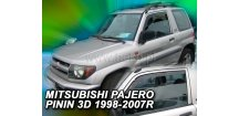 Ofuky oken Mitsubishi Pajero Pinin 3-dvéř. 1999-2007