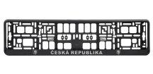 Podložka pod SPZ CHROM ČR 3D