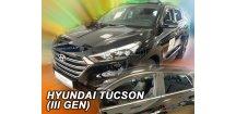 Ofuky oken Hyundai Tucson 2015-2017 (+zadní)