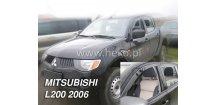 Ofuky oken Mitsubishi L200 doub/sing cab 2005-2014 (+zadní)