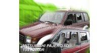 Ofuky oken Mitsubishi Pajero 1991-1999 (+zadní)