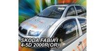 Ofuky oken Škoda Fabia I 1999-2007 (+zadní)