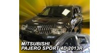 Ofuky oken Mitsubishi Pajero Sport 2013-2016 (+zadní)