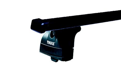 Střešní nosiče(příčníky) Thule 753+čtyřhranné tyče 769+kit