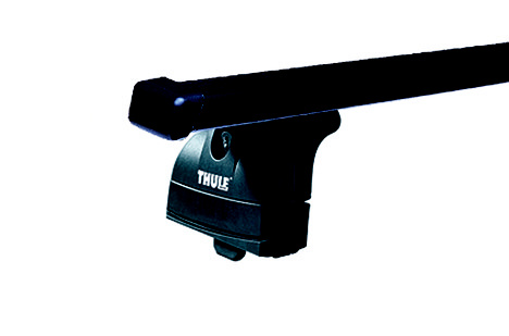 Střešní nosiče(příčníky) Thule 753+čtyřhranné tyče 763+kit