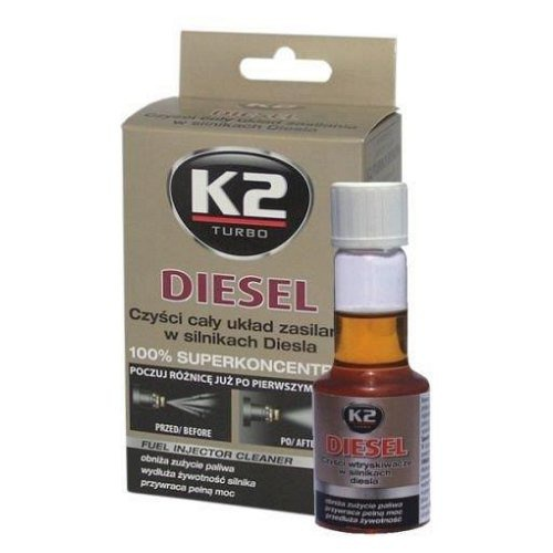 Compass Aditivum do paliva DIESEL 50 ml - K2