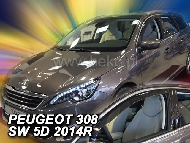 Heko Ofuky oken Peugeot 308 II 2013- htb/SW sada 2 ks