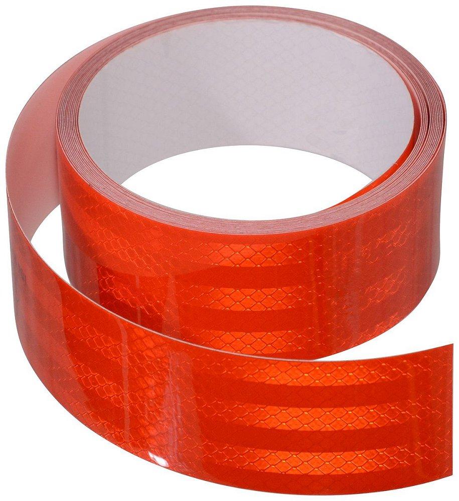 Compass Samolepící páska reflexní 1m x 5cm červená
