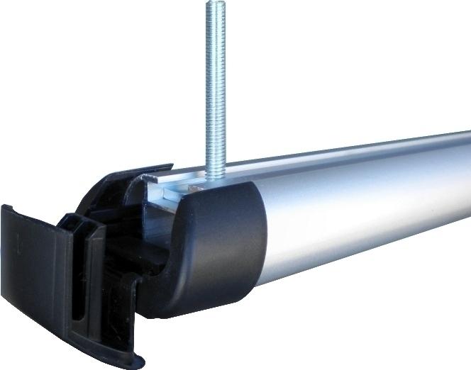 Hakr T-adaptéry pro nosiče lyží (40 mm) - sada 4ks