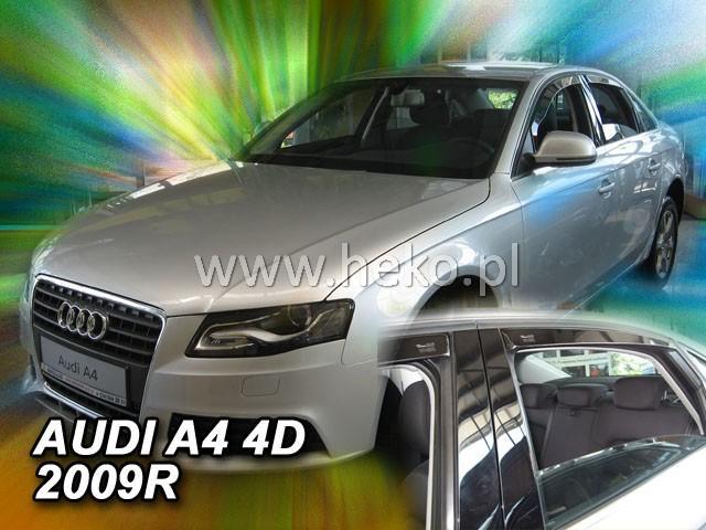 Heko Ofuky oken Audi A4 2009- (+zadní) sed sada 4 ks