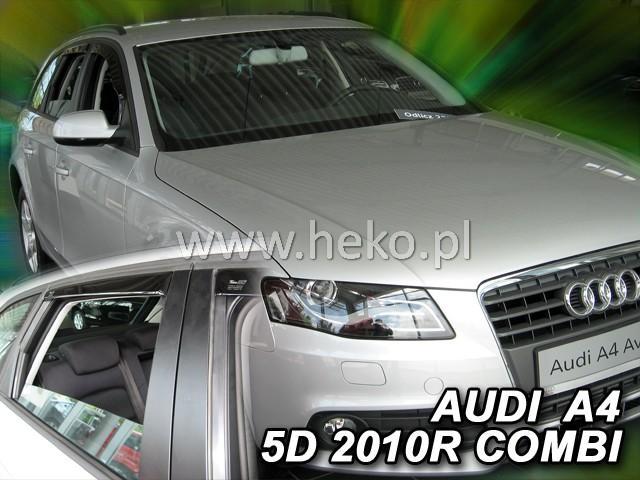 Heko Ofuky oken Audi A4 2009- (+zadní) combi sada 4 ks