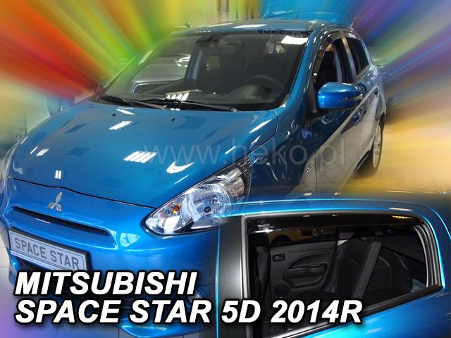 Heko Ofuky oken Mitsubishi Space Star 2014- sada 2 ks