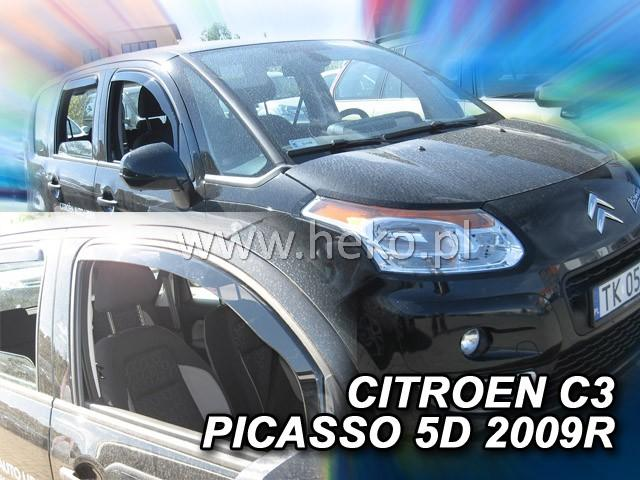 Heko Ofuky oken Citroen C3 Picasso 2009- sada 2 ks
