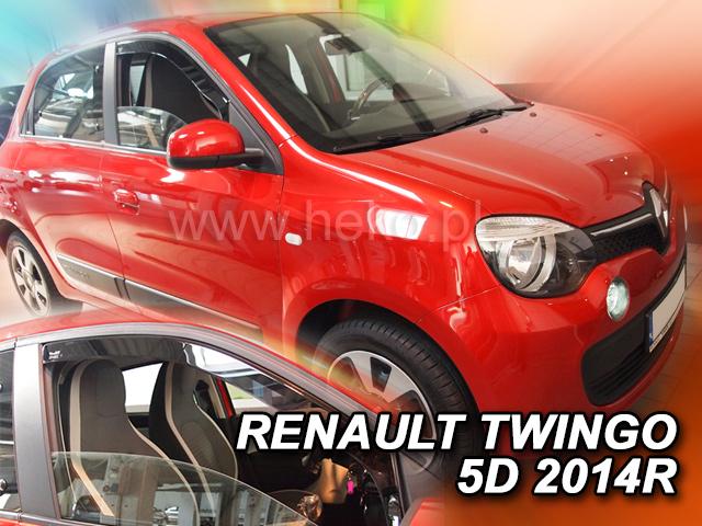 Heko Ofuky oken Renault Twingo 5D 2014- sada 2 ks