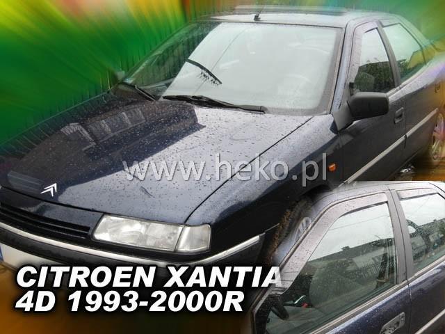 Heko Ofuky oken Citroen Xantia 93--00 (+zadní) sed sada 4 ks
