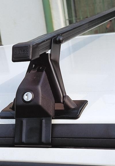 Střešní nosiče Škoda Fabia I 2000- htb (na holou střechu) ocel Hakr