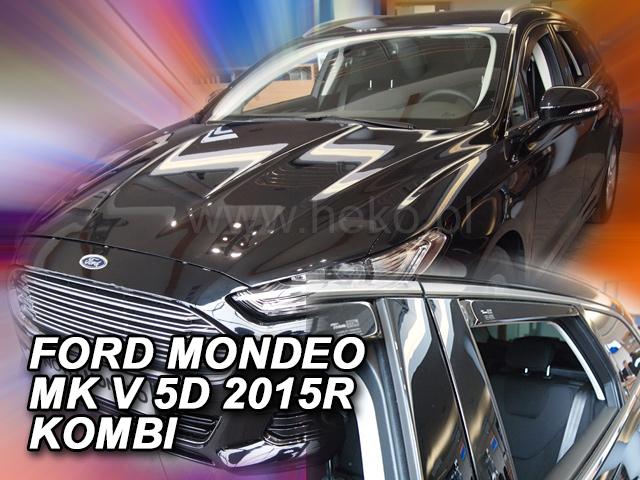 Heko Ofuky oken Ford Mondeo 2015- (+zadní) combi sada 4 ks