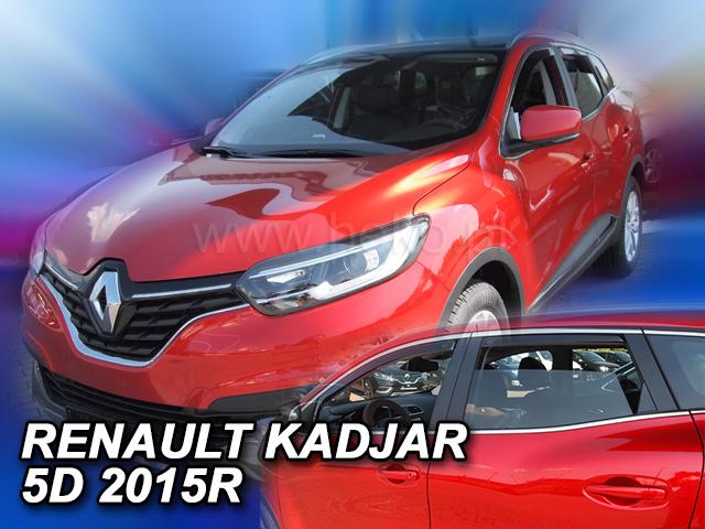Heko Ofuky oken Renault Kadjar 2015- (+zadní) sada 4 ks