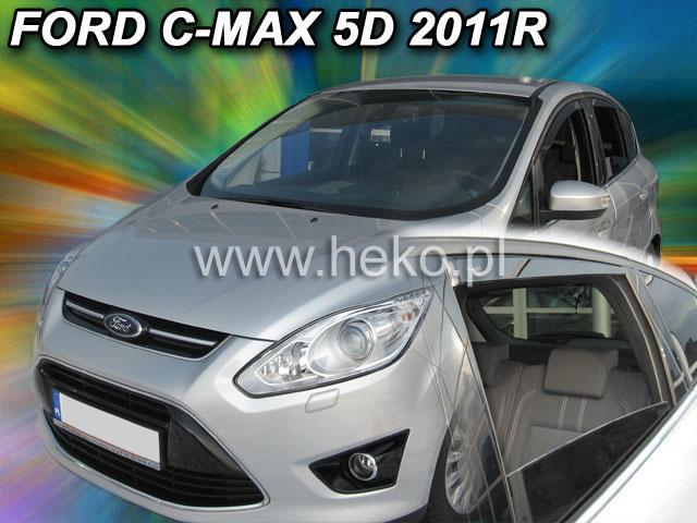 Heko Ofuky oken Ford Focus C-Max 2011- (+zadní) sada 4 ks