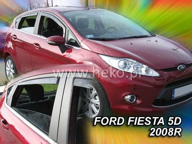 Heko Ofuky oken Ford Fiesta 2008- (+zadní) sada 4 ks