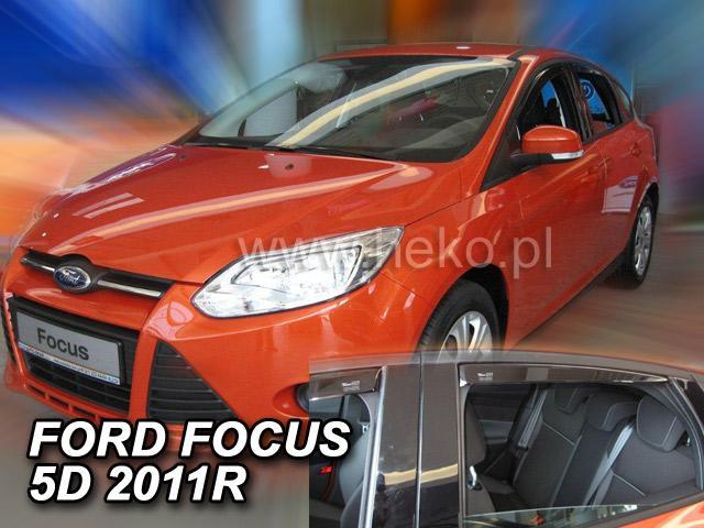 Heko Ofuky oken Ford Focus III 2011- (+zadní) htb/sed sada 4 ks