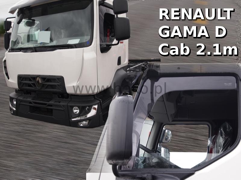 Ofuky oken Renault Gama D (kabina 2.1 m) 2014-2017