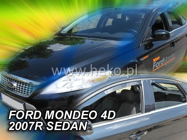 Heko Ofuky oken Ford Mondeo 2007- (+zadní) sed/htb sada 4 ks