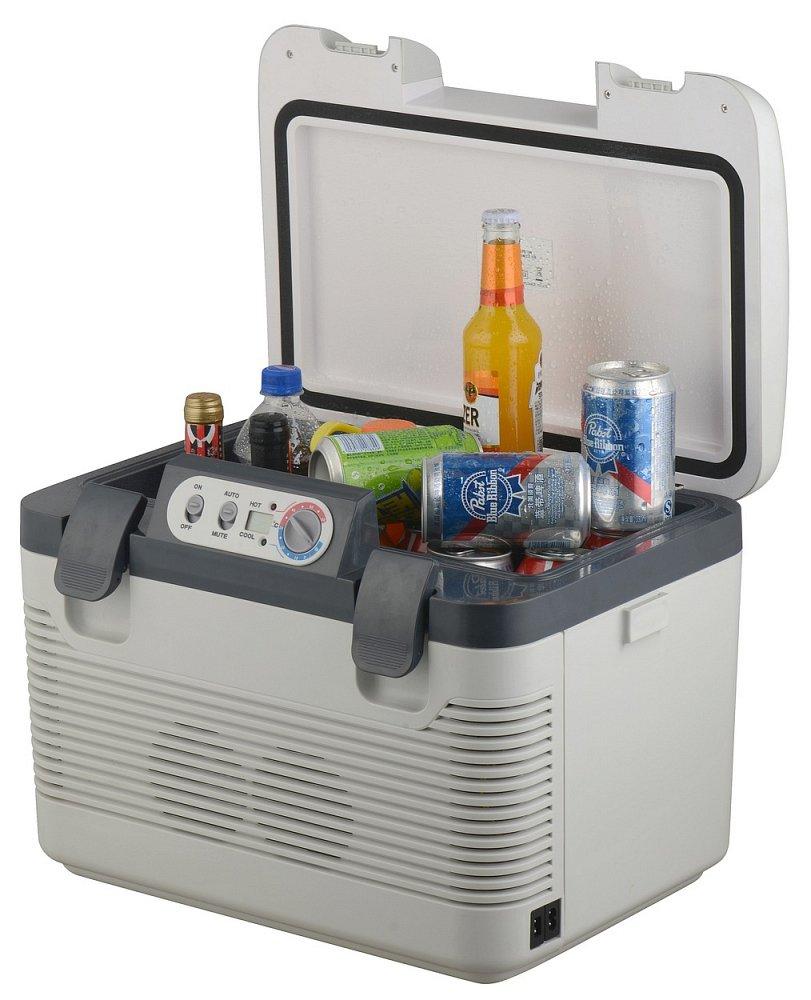 Chladicí box 19 litrů DOUBLE 220V/24V/12V LED display