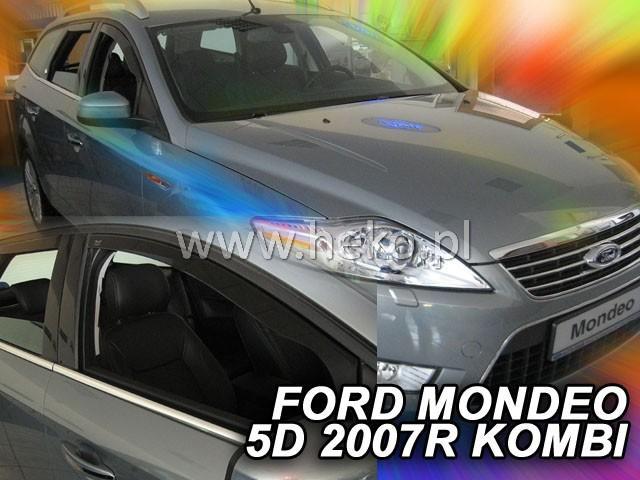 Heko Ofuky oken Ford Mondeo 2007- (+zadní) combi sada 4 ks