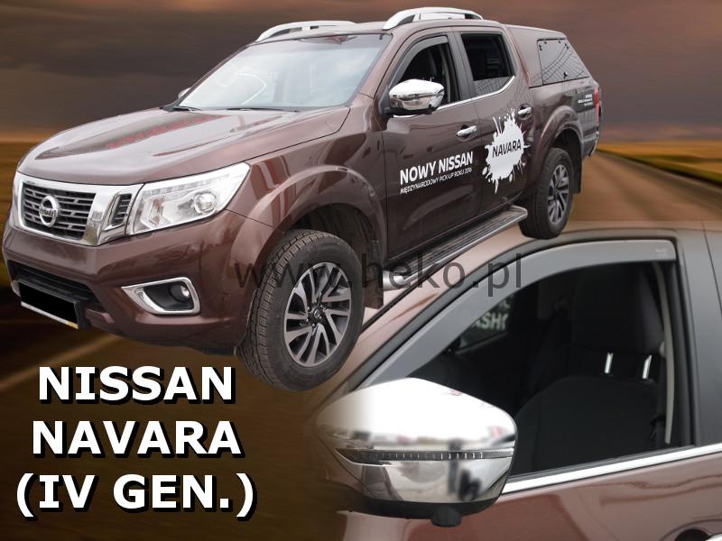Ofuky oken Nissan Navara D23 2015-2017