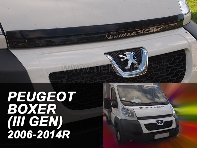 Deflektor kapoty Peugeot Boxer 2006-2014