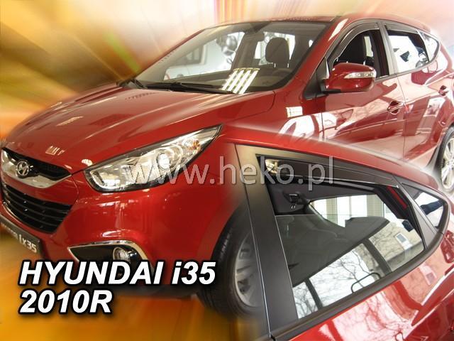 Heko Ofuky oken Hyundai ix35 2010- (+zadní) sada 4 ks