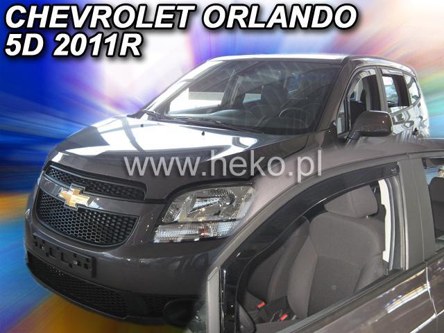 Heko Ofuky oken Chevrolet Orlando 2011- (+zadní) sada 4 ks