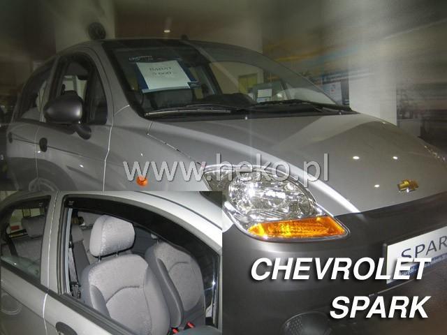 Heko Ofuky oken Chevrolet Spark 2005- (+zadní) htb sada 4 ks