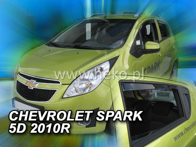 Heko Ofuky oken Chevrolet Spark 2010- (+zadní) sada 4 ks