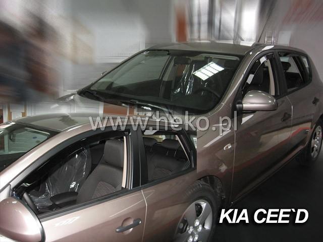 Heko Ofuky oken Kia Ceed 2007- (+zadní) sada 4 ks