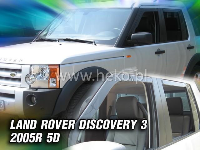 Heko Ofuky oken Land Rover Discovery III 2005- (+zadní) sada 4 ks