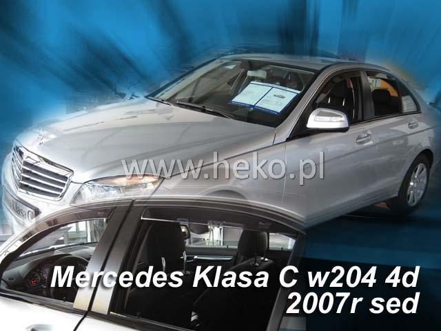 Heko Ofuky oken Mercedes C W204 2007- sada 2 ks