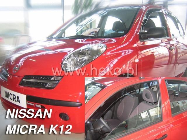Heko Ofuky oken Nissan Micra K12 2002- sada 2 ks