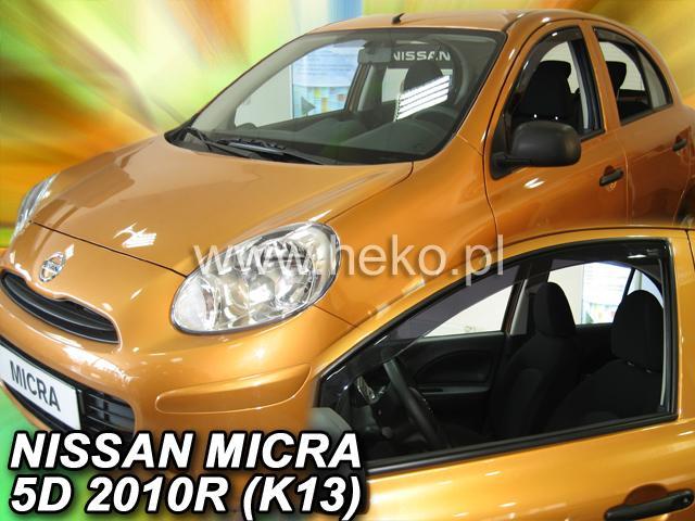 Heko Ofuky oken Nissan Micra K13 11/2010- sada 2 ks
