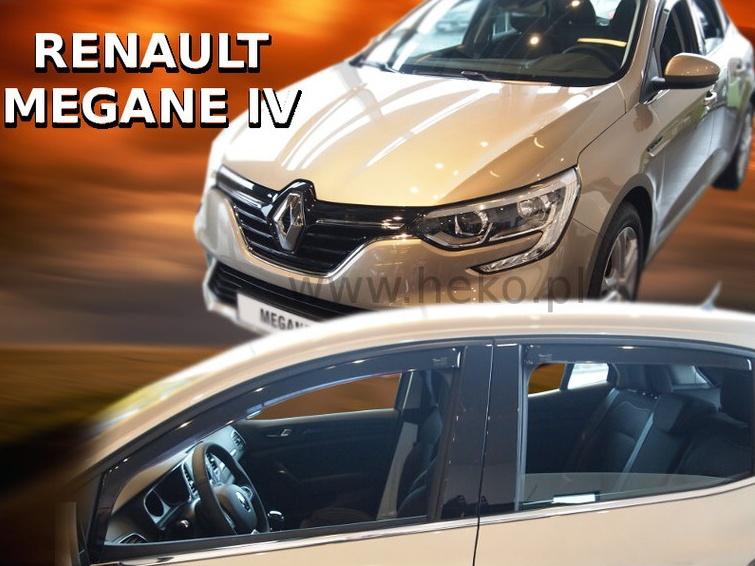 Ofuky oken Renault Megane IV 2016-2017 (+zadní) htb