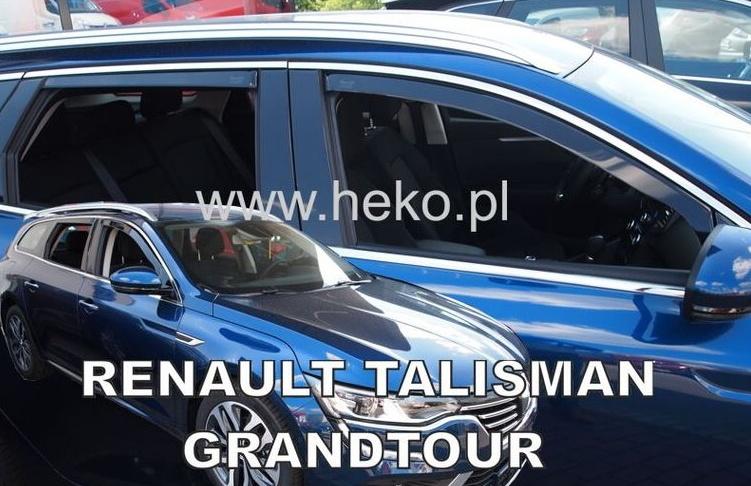Ofuky oken Renault Talisman 2016-2017 (+zadní) Grandtour