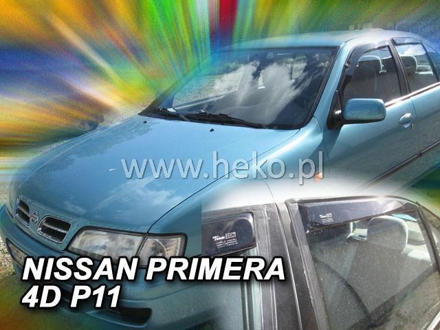 Heko Ofuky oken Nissan Primera P11 96--02 (+zadní) sada 4 ks