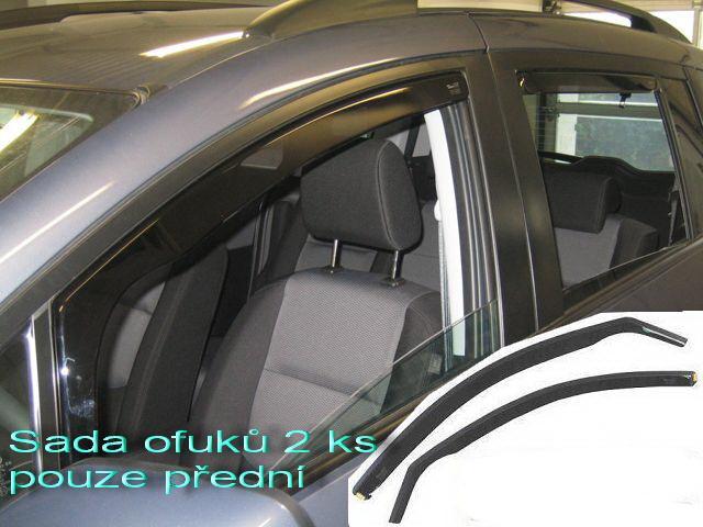 Heko Ofuky oken Renault Clio III 3D 2005- sada 2 ks
