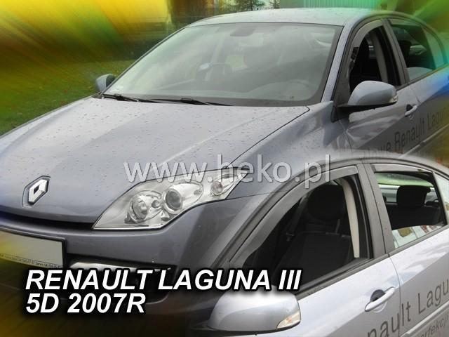Heko Ofuky oken Renault Laguna III 2007- (+zadní) sada 4 ks