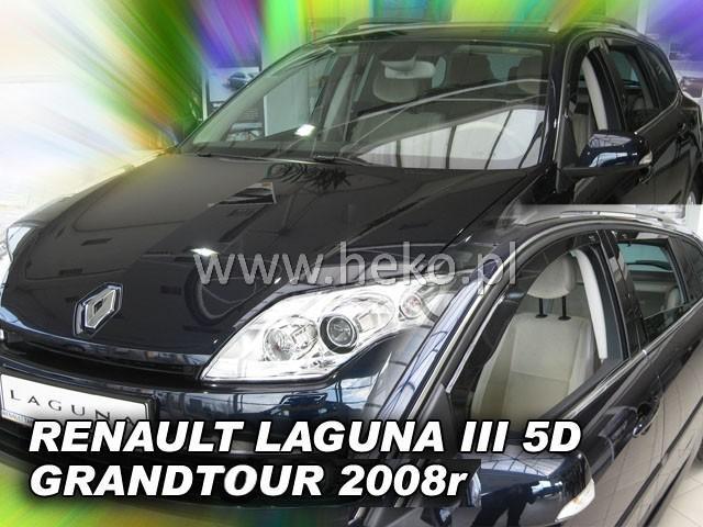 Heko Ofuky oken Renault Laguna III 2007- (+zadní) grandtour sada 4 ks