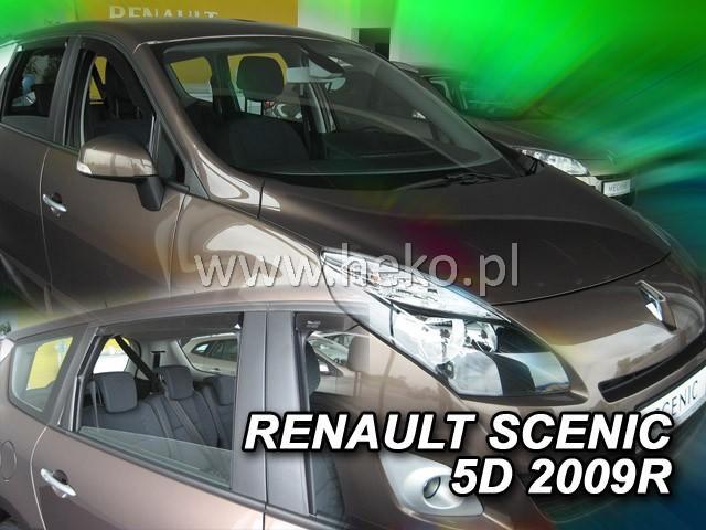 Heko Ofuky oken Renault Scenic 2009- (+zadní) sada 4 ks