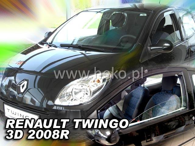 Heko Ofuky oken Renault Twingo 3D 2008- sada 2 ks