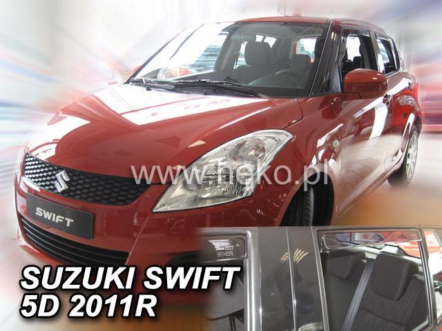 Heko Ofuky oken Suzuki Swift 11/2010- (+zadní) sada 4 ks